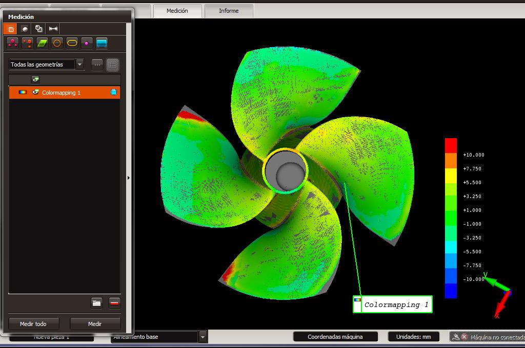 colormapping servicios de medicion